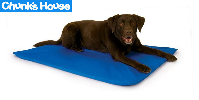 cooling mat, dog cooling pad, chunkshouse, ChunksHouse.com, dog heatstroke, overheated dog